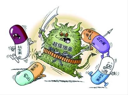传统抗生素无法对耐药性的超级细菌起效图片