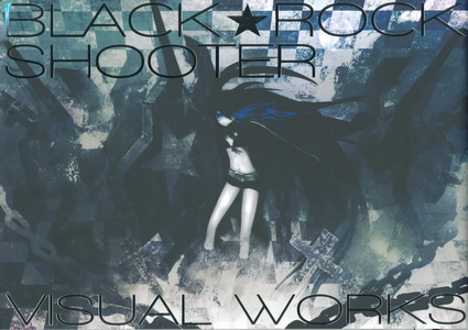 Black★Rock Shooter Visual Works封面