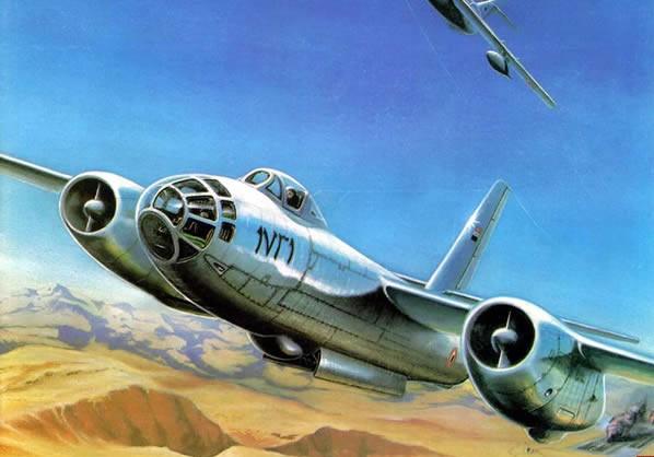 第一改�(9k�9��yd�yil_il-28前线轰炸机
