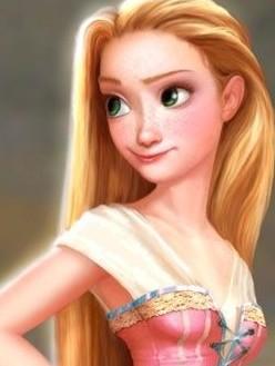 《长发公主》图片