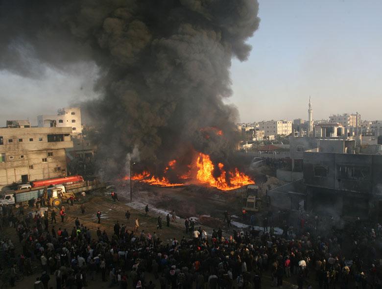 巴以冲突_随著巴以冲突的持续,巴武装人员不时从加沙地带向以境内目标发动袭击