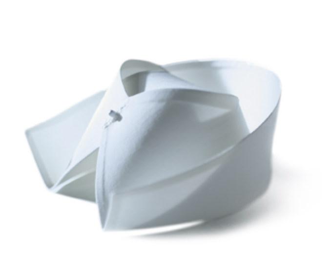 护士帽_燕尾帽又叫护士帽,是护士的工作帽,也是护理职业的象徵.