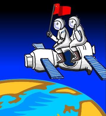 遨游太空是人类的古老梦想图片