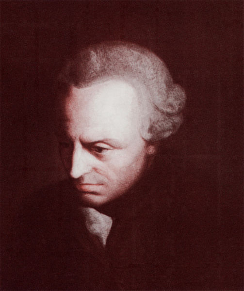 康德认为「本体」世界(「自在之物」)是无法为人所知的观念,使得兰德